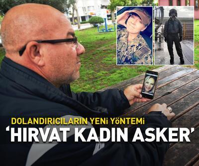 'Hırvat kadın asker'