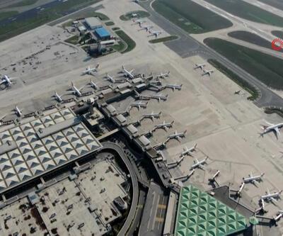 Korona virüsü sonrası Atatürk Havalimanı uçaklarla doldu
