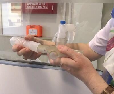 Solunum cihazını iki hasta aynı anda kullanabilecek