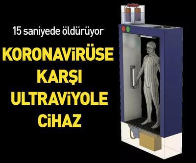 Koronavirüse karşı ultraviyole cihaz