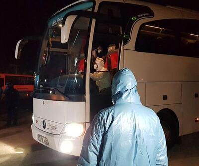 Karantina süresi dolan 895 kişi yurtlardan ayrıldı