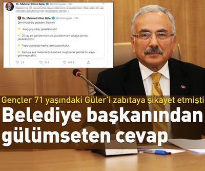 Belediye Başkanı Güler'den 20 yaş altına gülümseten mesaj