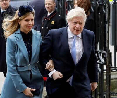 Boris Johnson'ın hamile nişanlısında koronavirüs semptomları
