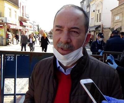 Edirne Belediye Başkanı sokakta isyan etti