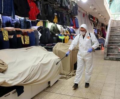 Eskişehir'de kapalı alanlar dezenfekte ediliyor