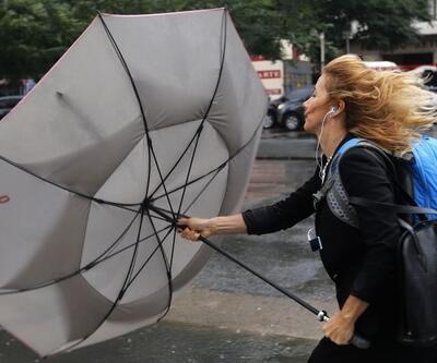 Dikkat! Meteoroloji'den kuvvetli rüzgar uyarısı - Hava durumu 7 Nisan