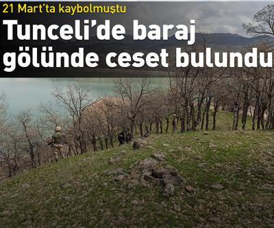 Uzunçayır baraj gölünde ceset bulundu