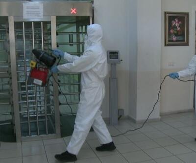 Cezaevlerinde koronavirüs önlemleri