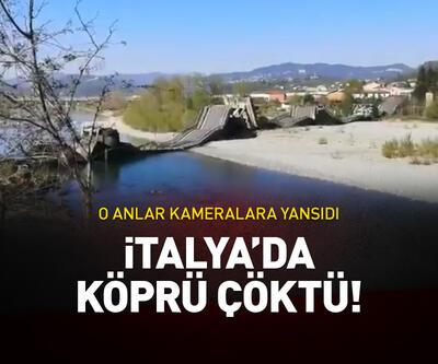 İtalya'da bir köprü çöktü!