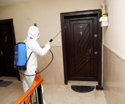 Mudanya'da dezenfekte çalışmaları sürüyor