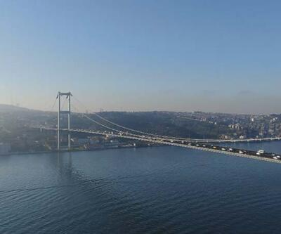 15 Temmuz Şehitler Köprüsü'nde pazartesi trafiği