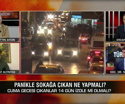 Sokak yasağı etkili oldu mu? Sokağa çıkanlar kendini 14 gün izole etmeli mi? Türkiye'nin Gündemi'nde konuşuldu