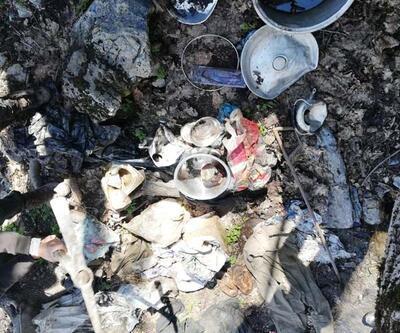 Bitlis'te toprağa gömülü 105 kilo patlayıcı ele geçirildi