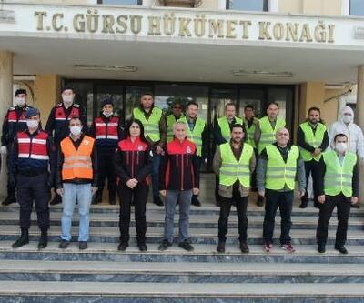 Gürsu Belediye Başkanı Işık, koronavirüs ile mücadelede görev alan personele teşekkür etti