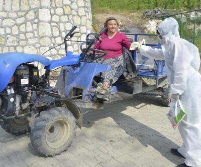 Kırsal mahallelere hijyen paketi