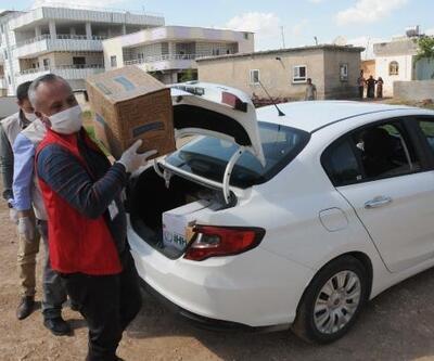 Akçakale'de Vefa Sosyal Destek Grubu'nun çalışmaları sürüyor