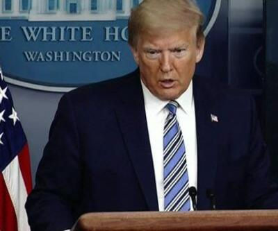 ABD Başkanı yine gazeteciye çattı