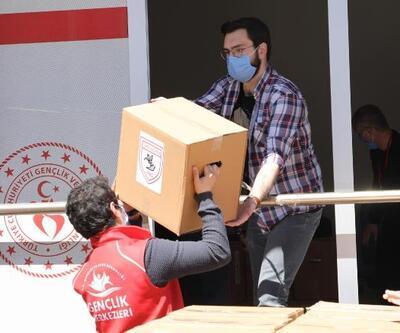 Samsunspor, Ramazan erzak dağıtımına başladı