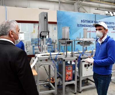 Saatte 600 adet N95 maske üretilecek