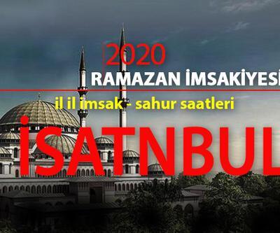 İstanbul imsak saati kaçta? 24 Nisan Diyanet İstanbul imsak ezanı saati