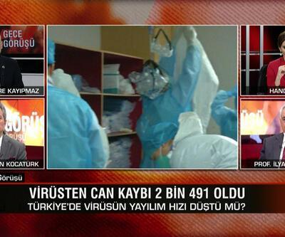 Türkiye'de virüsün yayılım hızı düştü mü? Normalleşmeye kademeli geçiş nasıl olacak?Gece Görüşü'nde konuşuldu