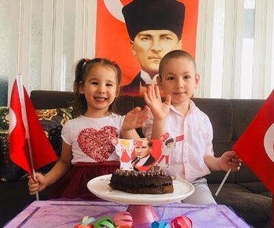 Miniklerin 23 Nisan pastası Vali Köşker'den