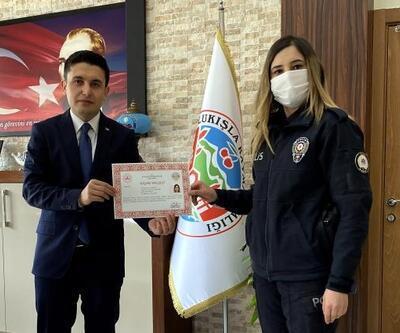 Ulukışla'da polislere başarı belgesi verildi