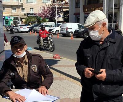 Babaeski'de tedbirlere uymayan 25 kişiye, para cezası uygulandı