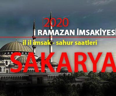 26 Nisan Sakarya iftar vakti 2020 imsakiye: Sakarya iftar saati kaç?