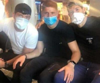 Havaalanında mahsur kaldılar!
