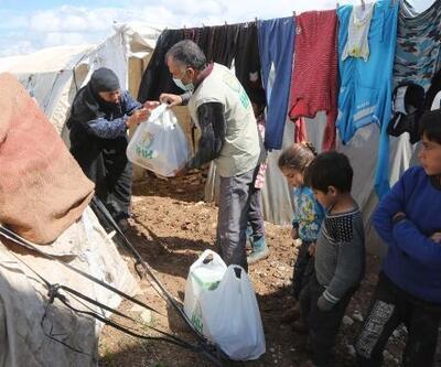 Suriye'deki ihtiyaç sahiplerine yardım