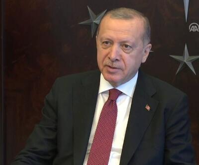 Cumhurbaşkanı Erdoğan, tedavi gören hastalarla görüştü