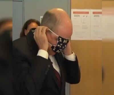 Belçikalı bakanın maskeyle savaşı