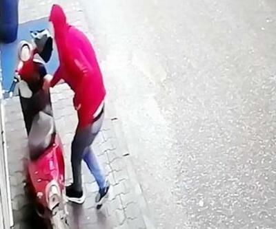 Kameradan kimliği belirlenen hırsızlık şüphelisi yakalandı