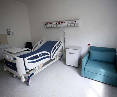 Atatürk Havalimanı'ndaki hastanenin tamamlanan bölümleri görüntülendi