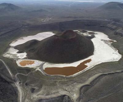 'Meke Gölü'nü, modern sulama kurtarır'
