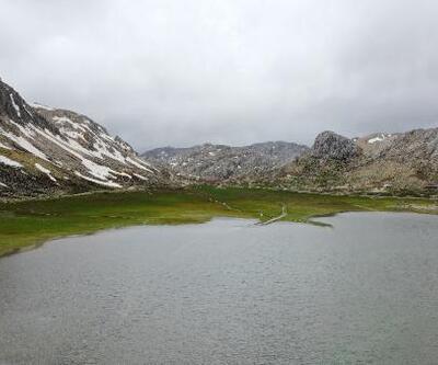 Geçici gölü ile ünlü  Günnercik Yaylası yazı bekliyor