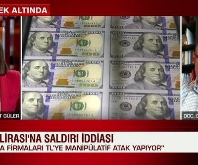 Uzman isim Türk Lirası manipülasyonunu canlı yayında açıkladı