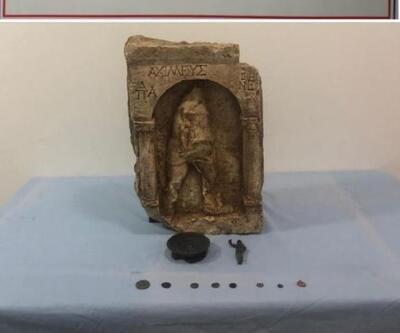 1400 yıllık 11 tarihi eser ele geçirildi