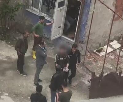 Taciz iddiası mahalleyi karıştırdı