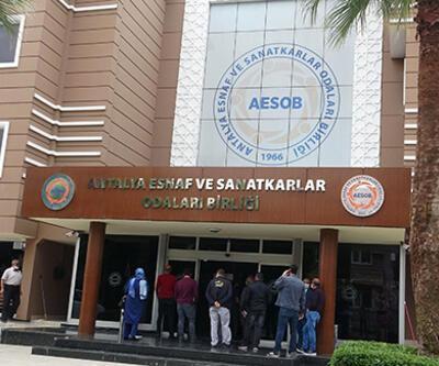 Son dakika... Antalya Esnaf Odaları binası için bomba ihbarı