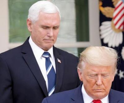 Beyaz Saray'da alarm! Dün Trump, bugün Pence