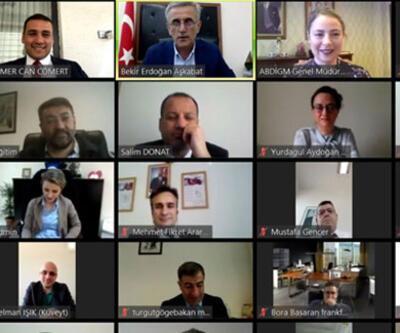 MEB, 32 ülkeden eğitim müşavirleriyle online toplantı düzenledi