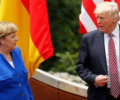 """Trump'tan Merkel'e """"İkinci Dünya Savaşı"""" telefonu"""