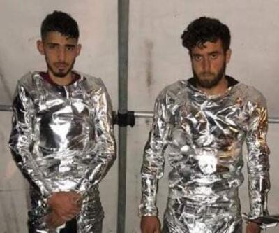 Sızma girişimindeki 2 terörist yakalandı