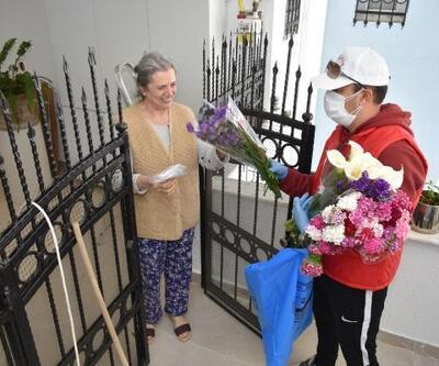 Balçova belediyesi anneleri unutmadı
