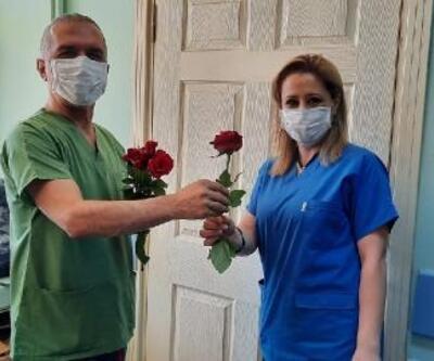 Erzin'de Hemşireler Günü kutlandı