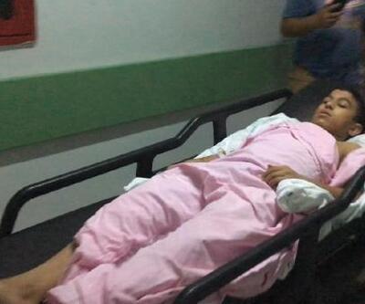 Otomobilden pompalı tüfekle ateş açıldı: 1'i çocuk 2 yaralı