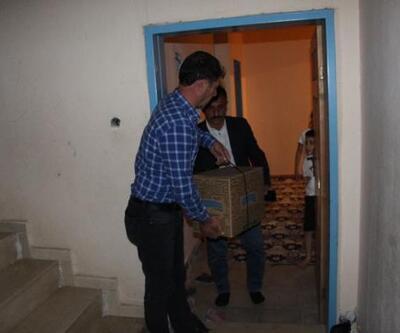 Silopi'de şehit yakınları ve gazilere gıda kolisi