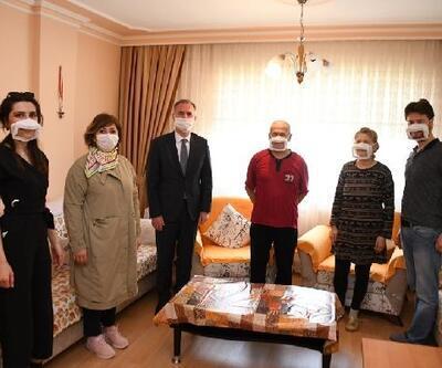 İşitme engellilere özel maske üretildi